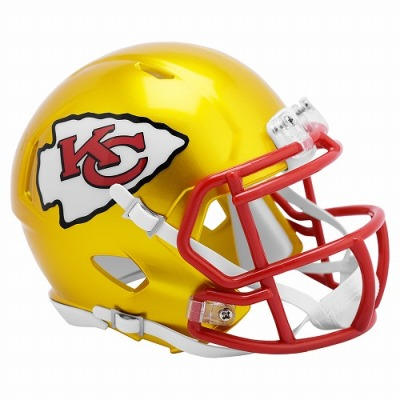[限定]リデル NFL レプリカミニヘルメット フラッシュ チーフス