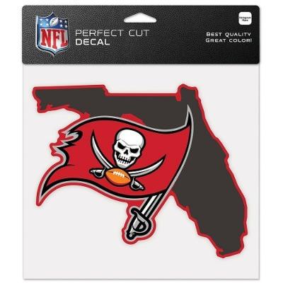 ウィンクラフト NFL ディキャルシール ステイトシェイプ バッカニアーズ