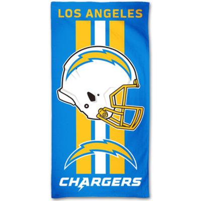 ウィンクラフト NFL ファイバービーチタオル チャージャーズ