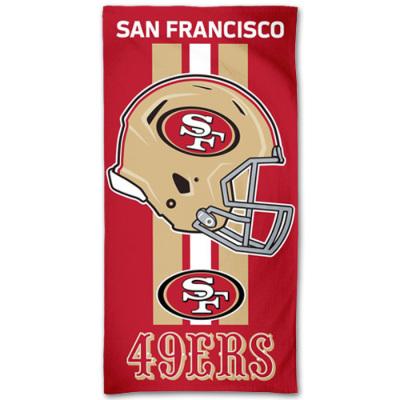 ウィンクラフト NFL ファイバービーチタオル 49ers