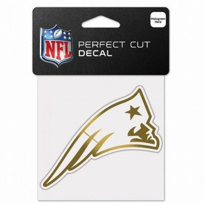 ウィンクラフト NFL ディキャルシール メタリックゴールド ペイトリオッツ