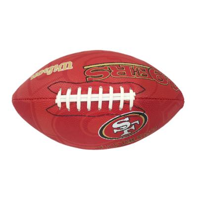 ウィルソン NFL ジュニアサイズボール WTF1534 49ers