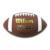 【合成皮革ボール】ウィルソン NCAAコンポジット WTF1661ID