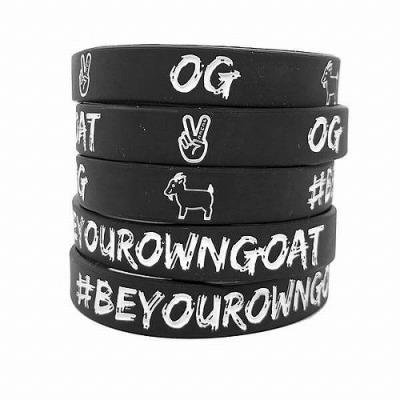 deuce リストバンド【Be Your Own Goat】ブラック 1個入
