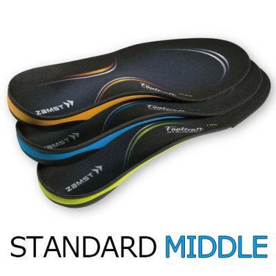 ザムスト 機能性インソール フットクラフト スタンダード MIDDLE(標準タイプ)
